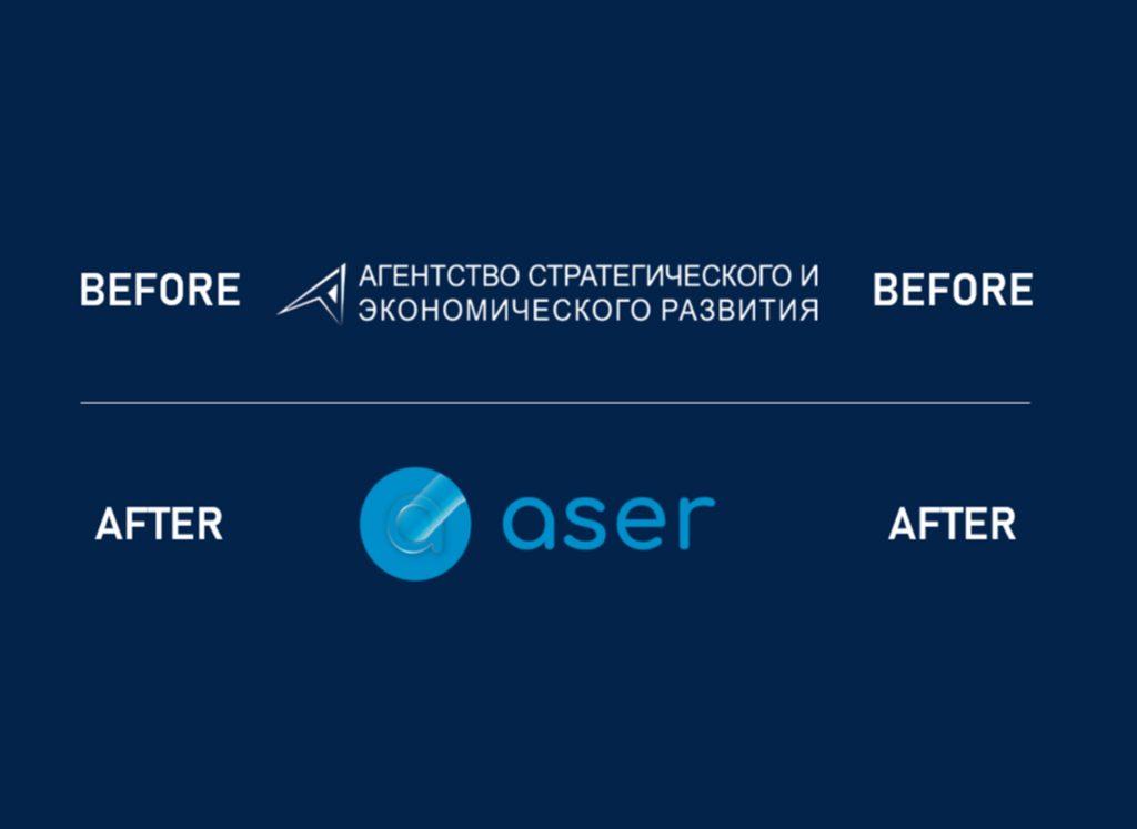 Новый логотип АСЕР